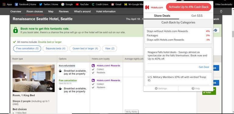 Hotels.com Seattle